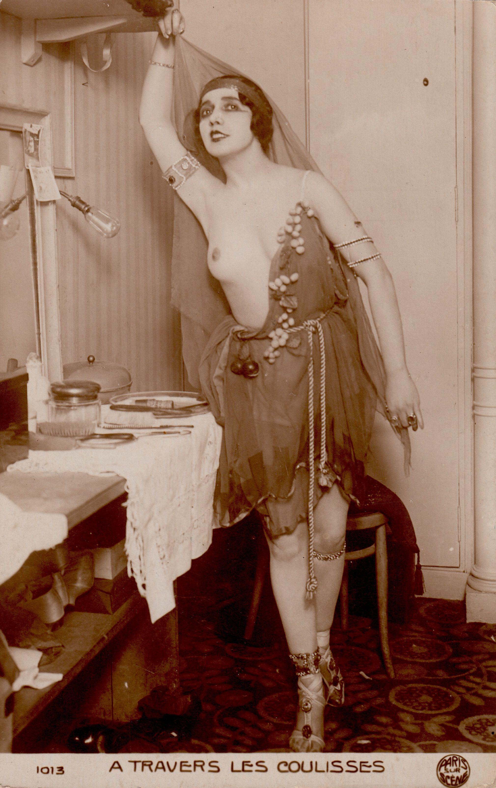 Vintage erotische Damen