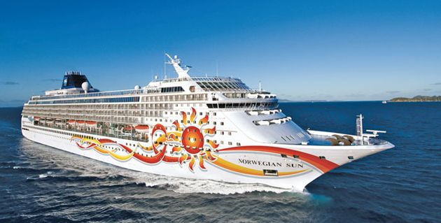 Norwegian Sun Cruise Ship Cruised From Miami Stopped In Key West Then To The Bahamas Only A 3 Day Trip And Was Not Near Long Enough For Me