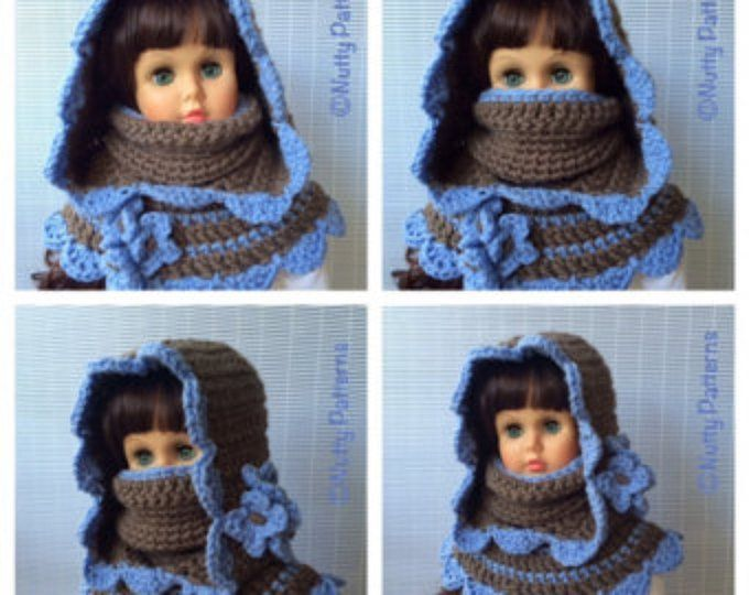 Knitting Pattern Vermont Hood with Capelet Instant | Etsy ...