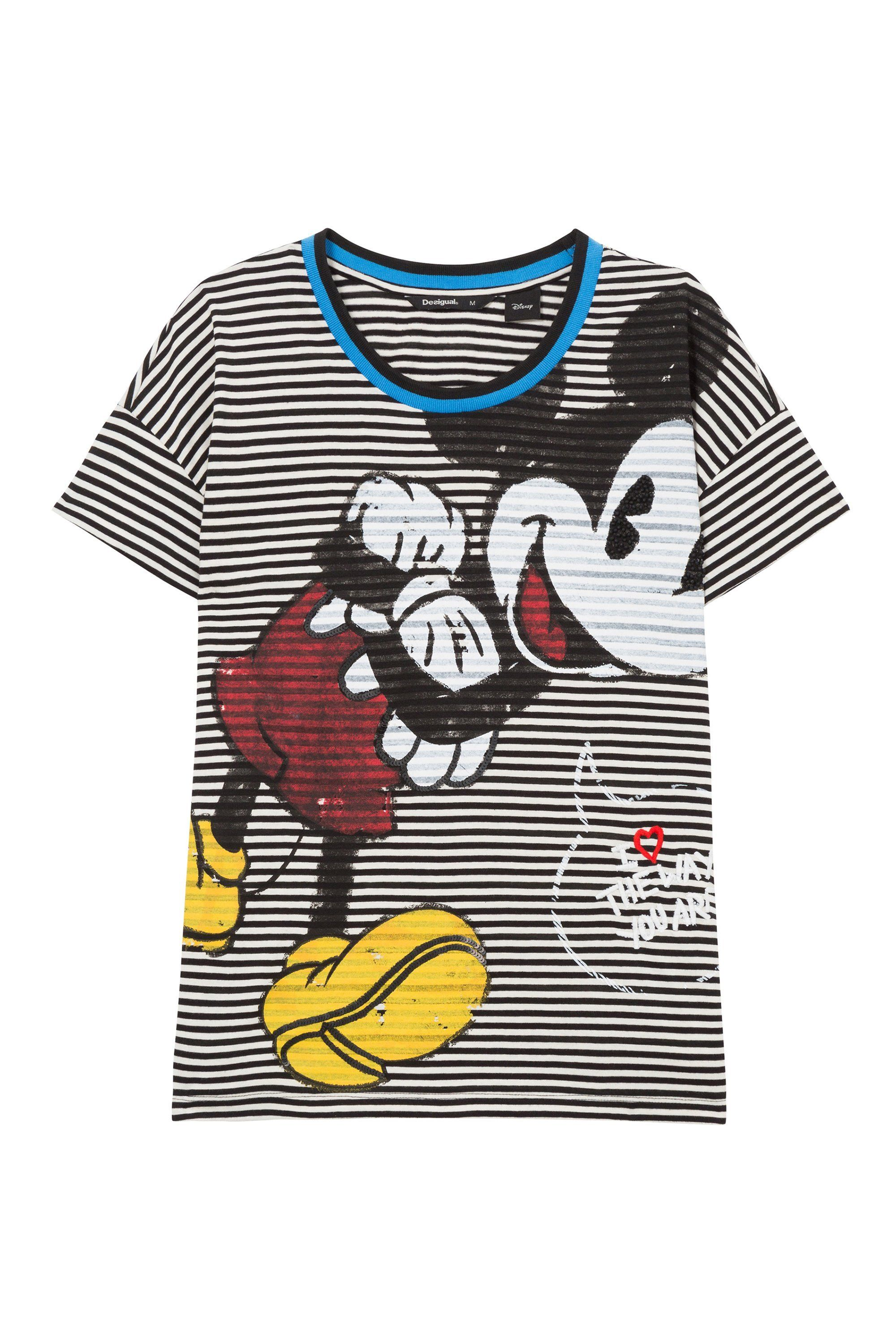 6199b6e6a Shop women's Mickey Mouse clothing at Desigual. Jackets, jeans, T-shirts  and sweatshirts with a vintage touch. Free in-store shipping.