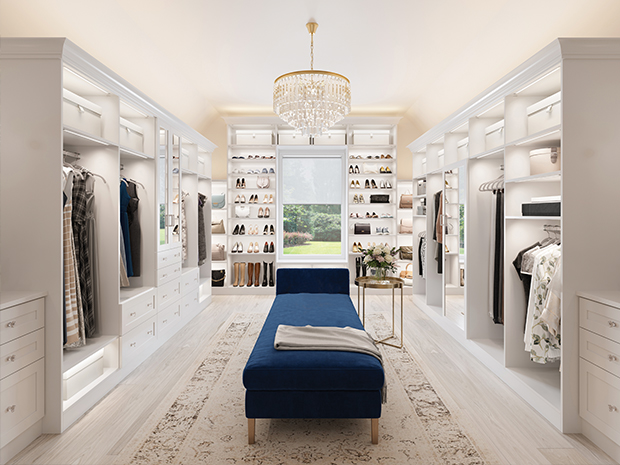 Walk In Closet Systems | Walk-In Closet Design Ideas | California Closets