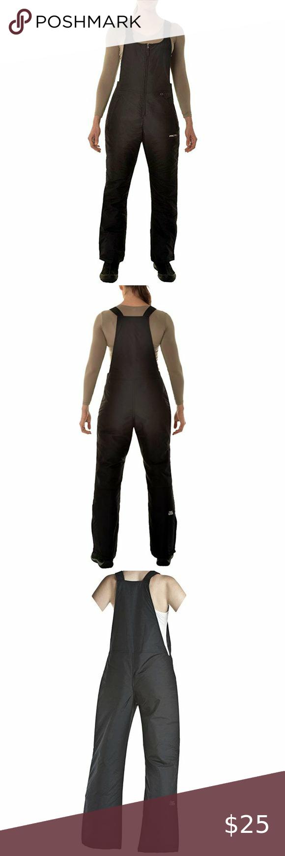 arctix women s essential insulated bib overalls nwt in on womens insulated bib overalls id=84996
