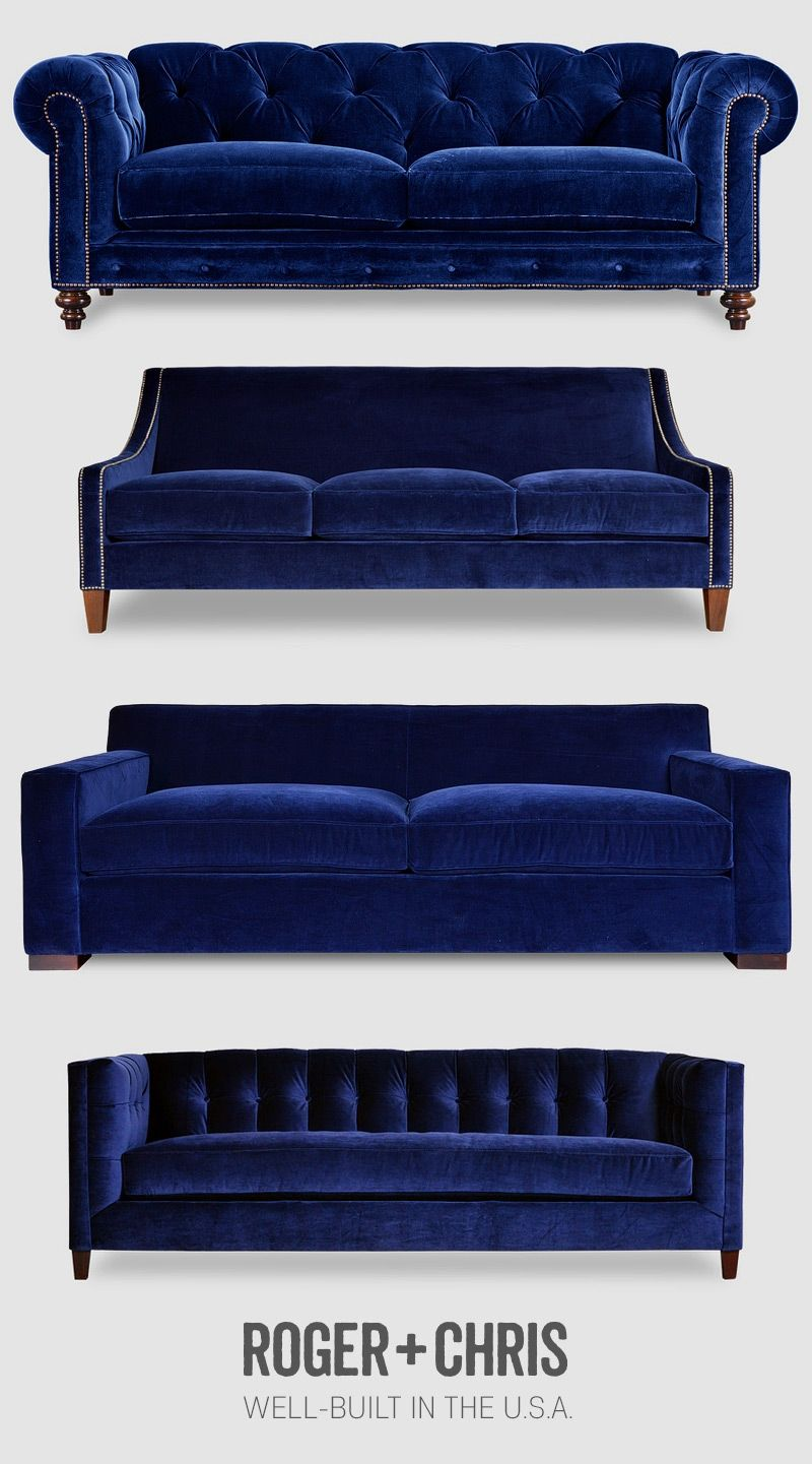 Blue Velvet Furniture Pinterest Blue Velvet Living
