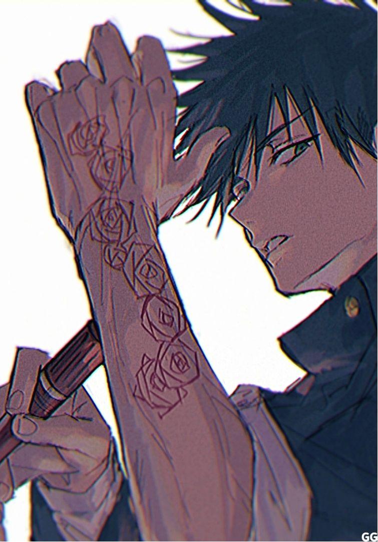 Megumi Fushiguro Jujutsu Kaisen Jujutsu Anime Art Anime