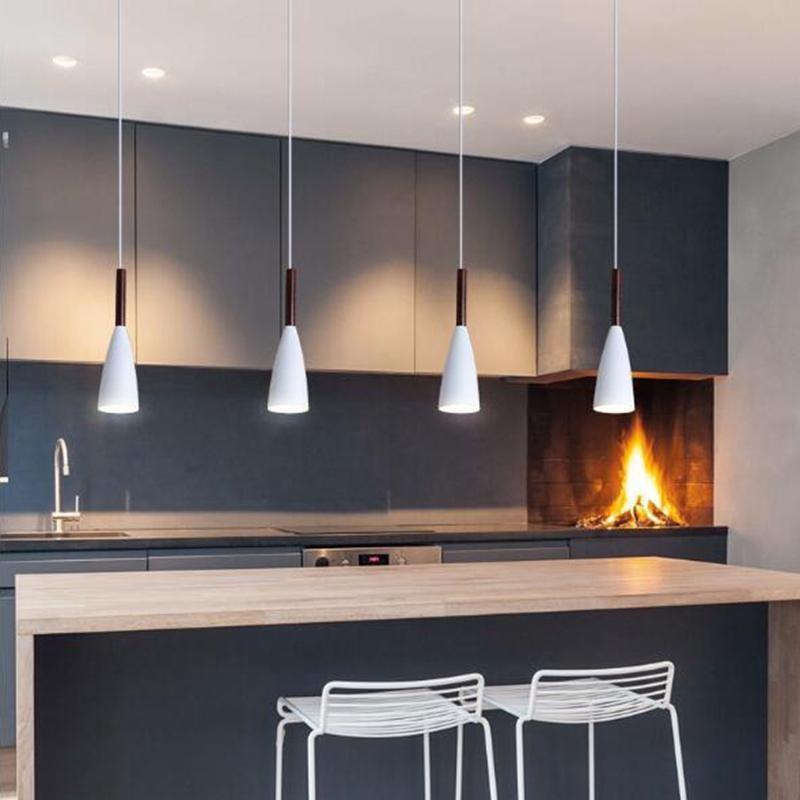 Modern Pendant Light Kitchen Hanging Lamp Dining Room ...