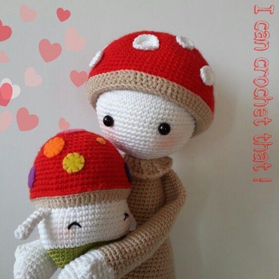 Lalylala Paul and Lalylala 4 seasons series Autumn Henry Crochet Amigurumi doll