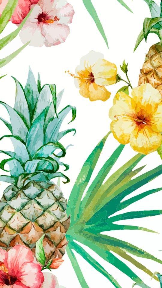 flowers fondos iphone pineapple tropical tumblr