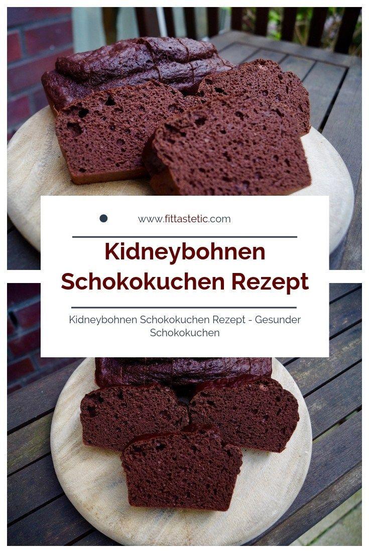 Kidneybohnen Schokokuchen Rezept - Gesunder Schokokuchen