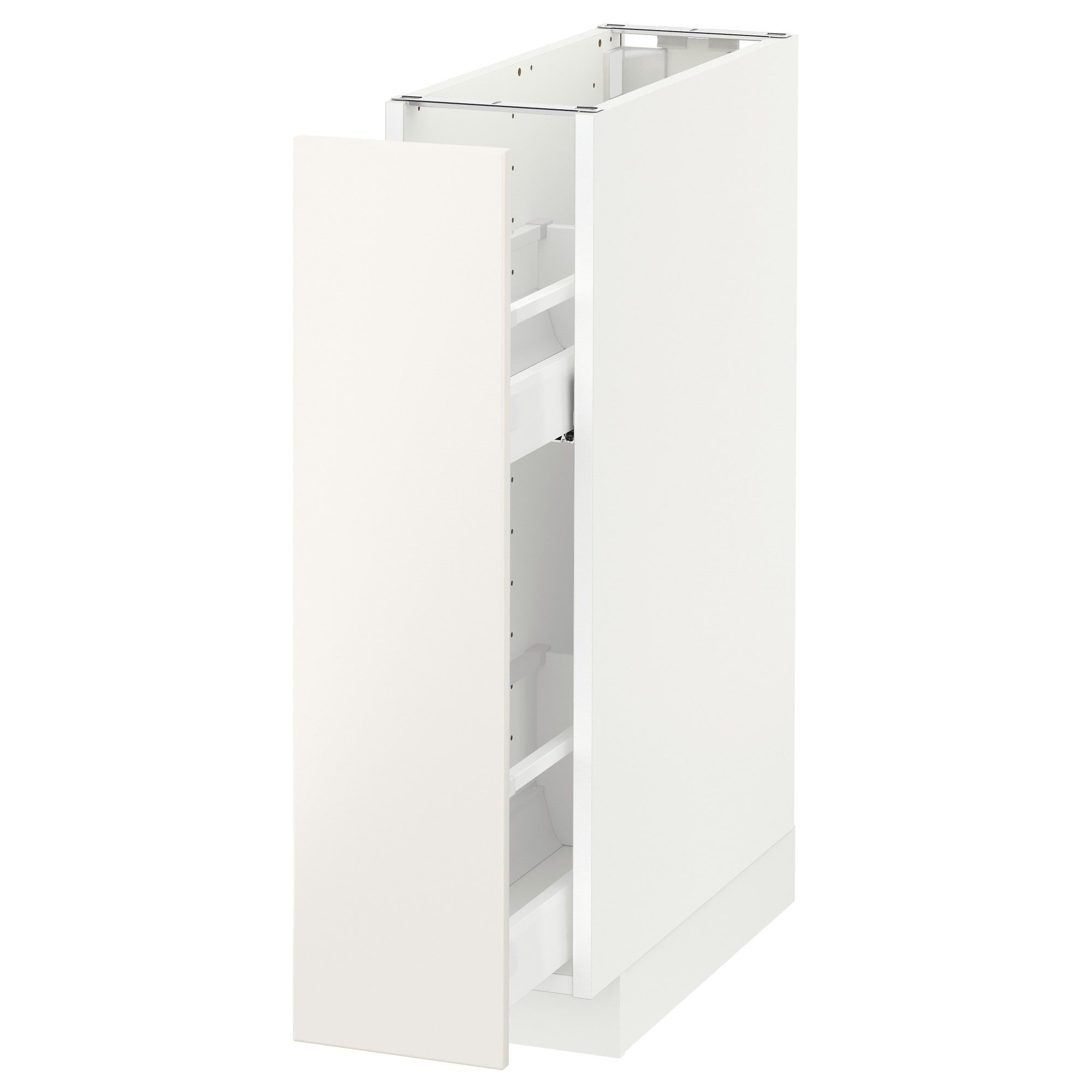 Ikea Apothekerschrank Küche Metod Wall Cabinet With Shelves White Askersund Light Ash Effect
