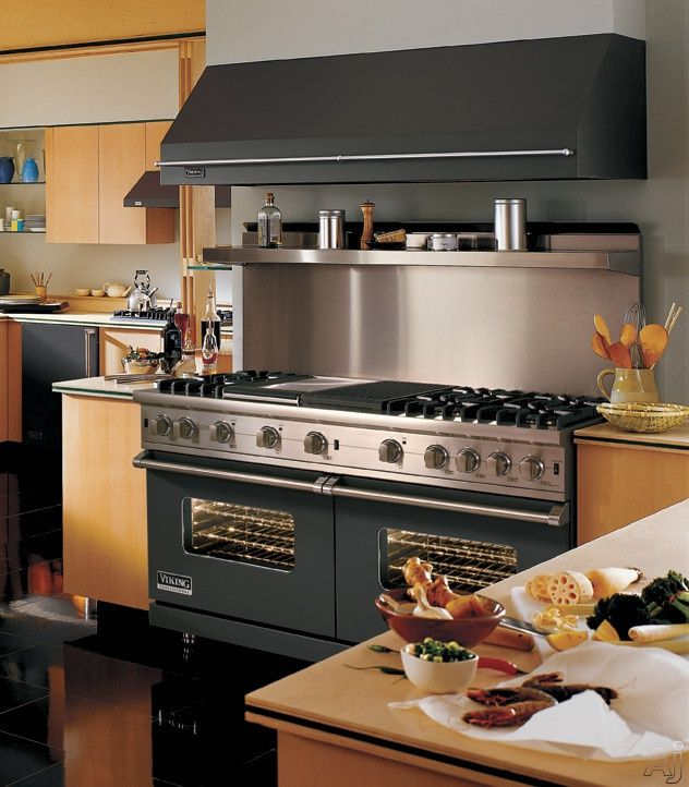 Stove with Grill in Middle and double oven | ... love to ...