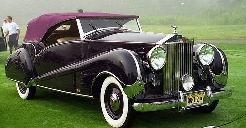 1947 Rolls Royce Silver Wraith J.S. Inskip convertible