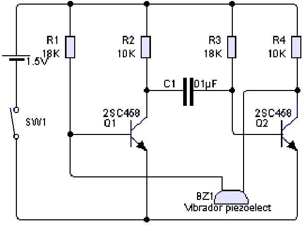Circuito Zumbador Piezoelectrico : Zumbador piezoelectrico tecnología pinterest