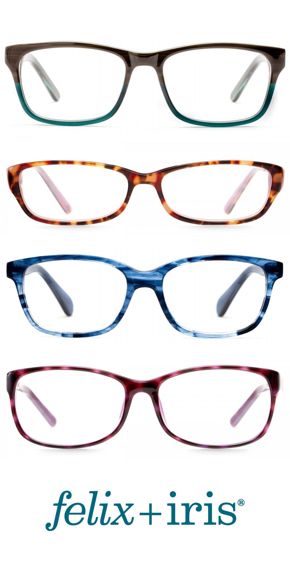 4 gorgeous colorful frames for round faces felix iris glasses