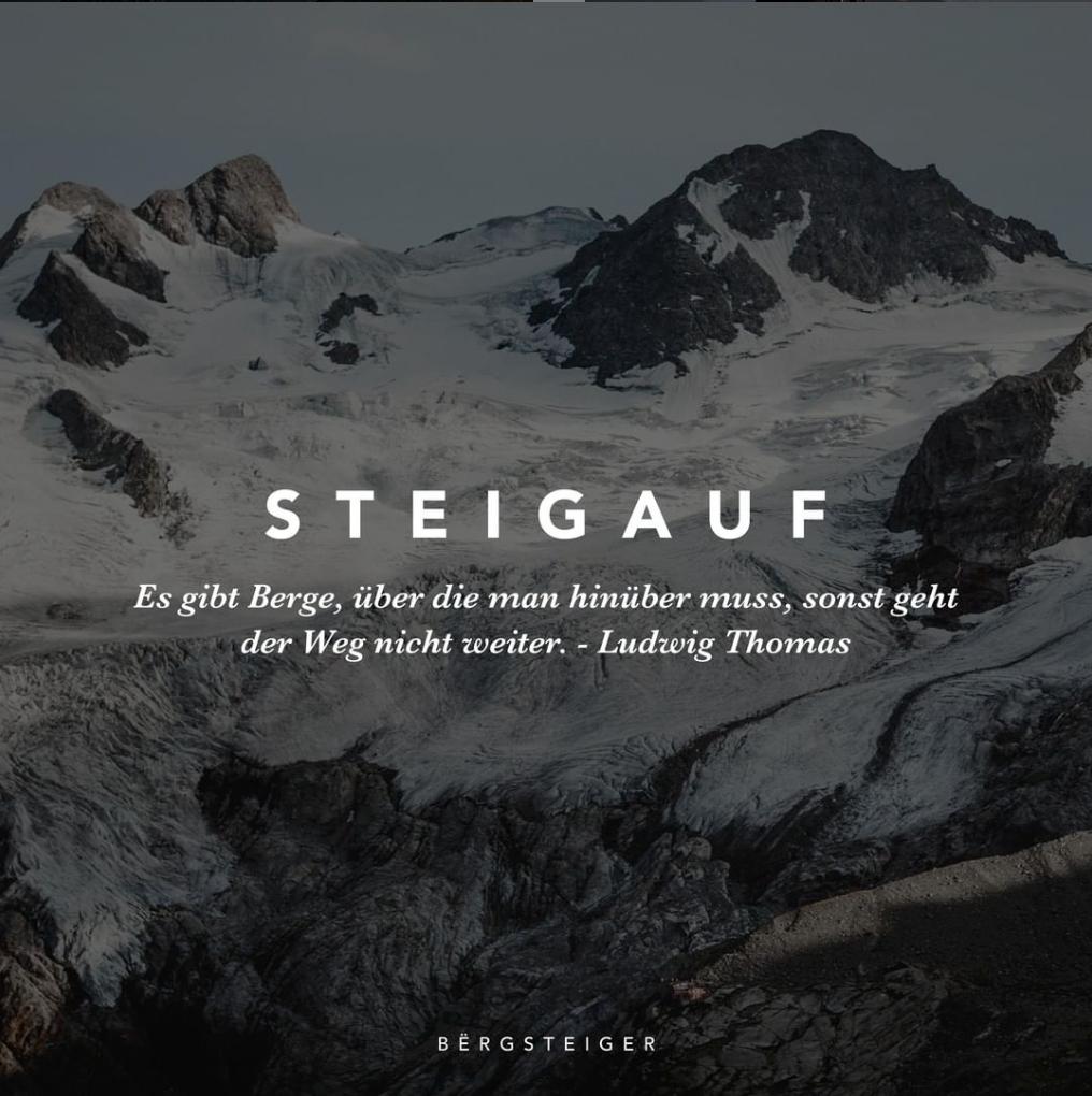 die besten bergsprüche & inspirierende quotes. | berge