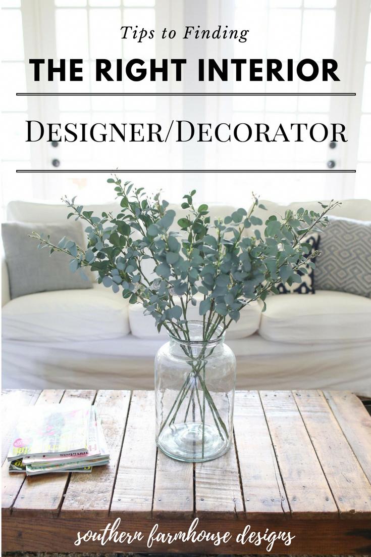 How to find the right interior designer decorator interiordesigncareer