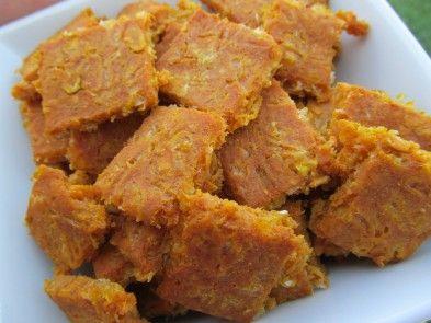 Cheddar Pumpkin Dog Treats