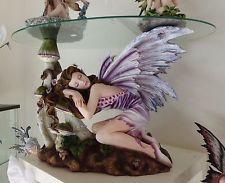 Tavolino fata ~ Fairy land elfen fees fata fatina della terra con tavolino tavolo