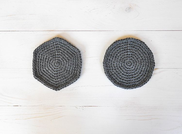 From hexagon to circle | Crochet tutorial how to make a perfect ...
