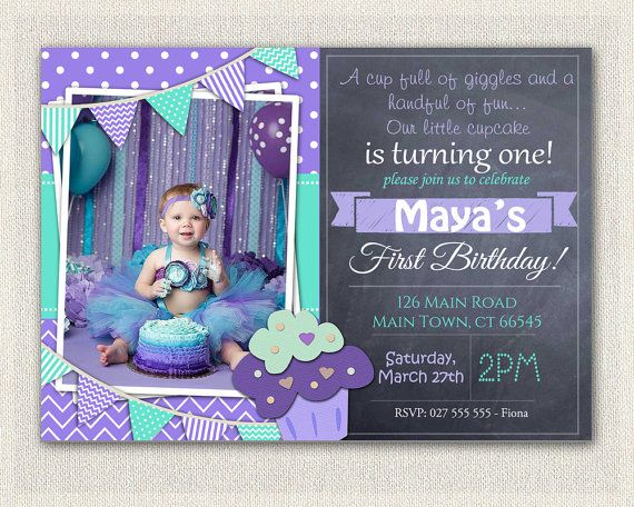 First Birthday Invitation Printable Download 1st Birthday – 1st Birthday Invites