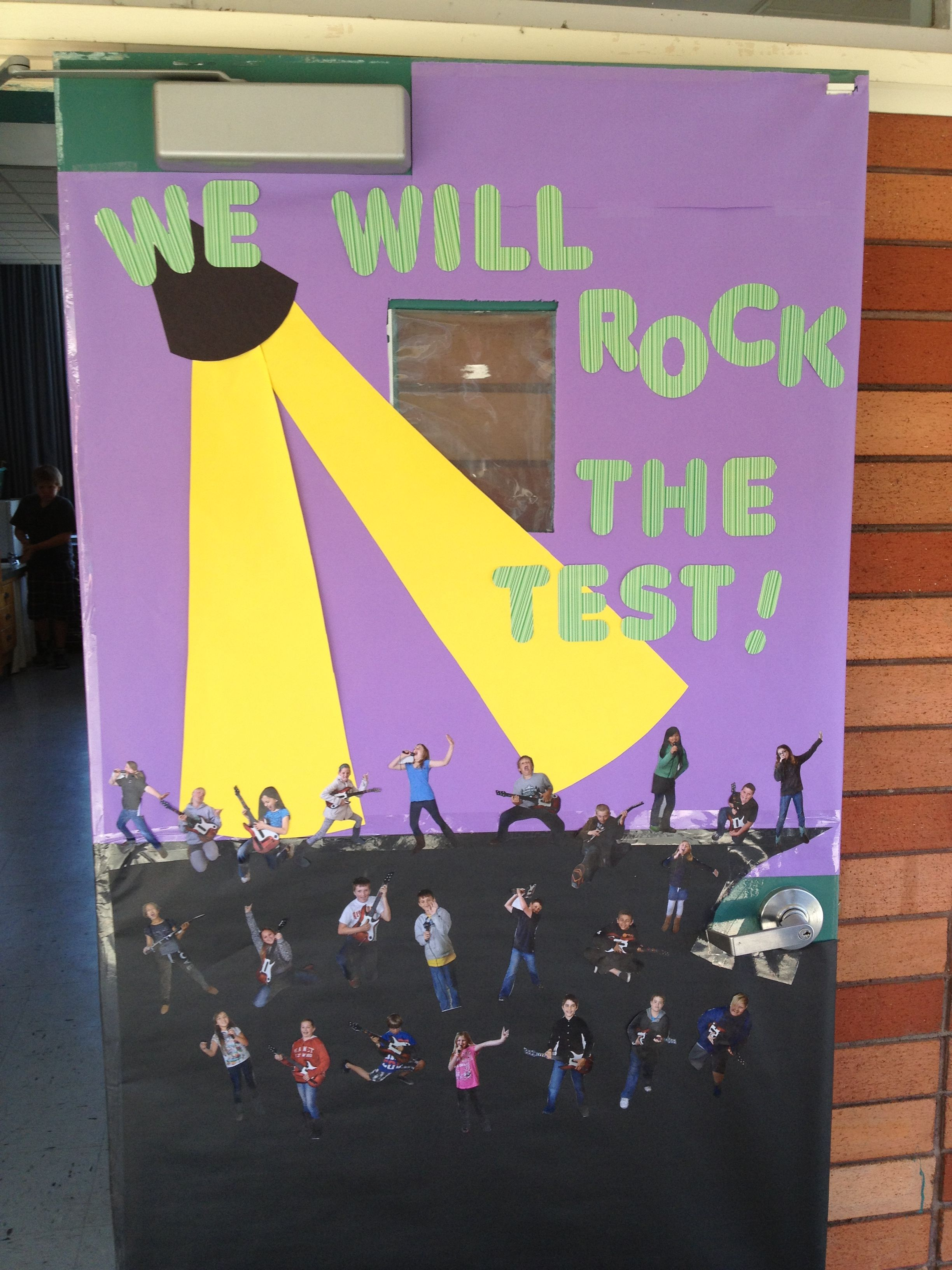 Door Decorating For Star Test School End Of Year Classroom