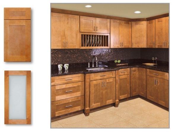 Exceptionnel Cinnamon Shaker   Kitchen Cabinet Depot