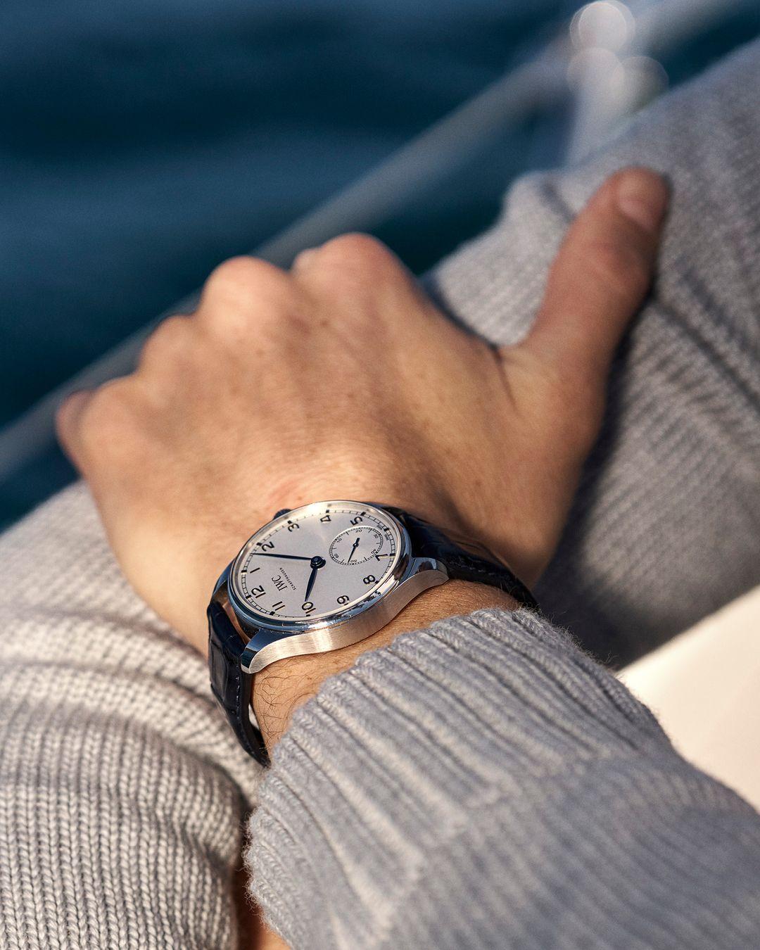 IWC SCHAFFHAUSEN - PORTUGIESER AUTOMATIC 40 - IW358304 in 2020 | Iwc,  Summer staples, Swiss watches