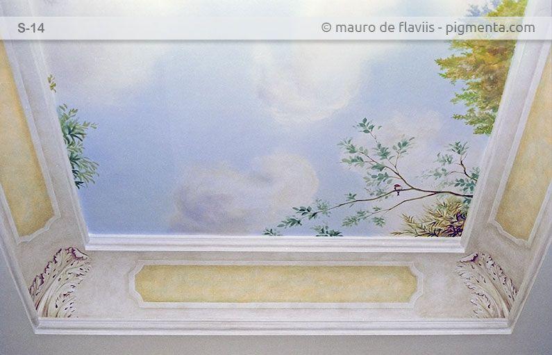 **pittura murale su soffitti, volte e cupole. Soffitti ...