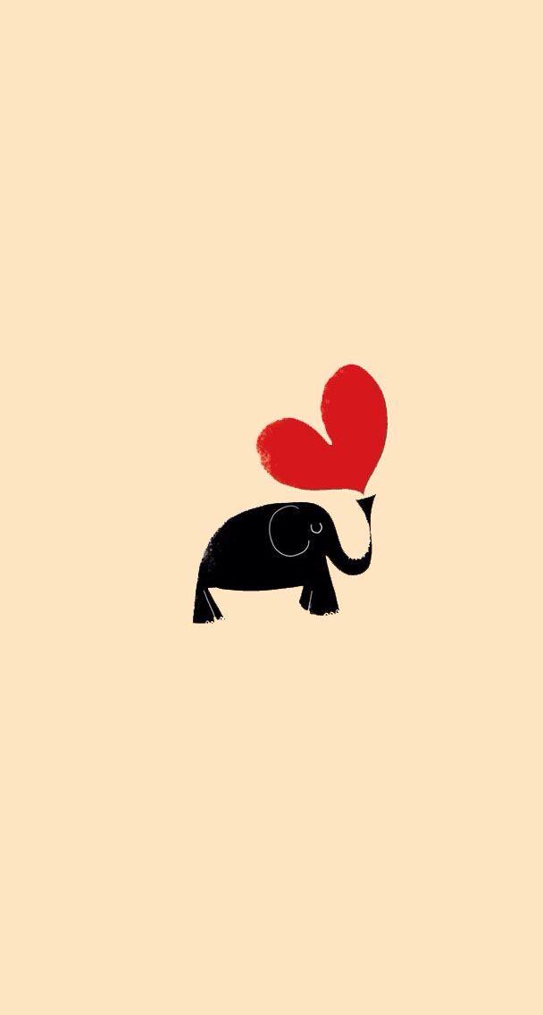 Pin By Najwa Moukaddem On Wallpaper Elephant Illustration Elephant Art Elephant