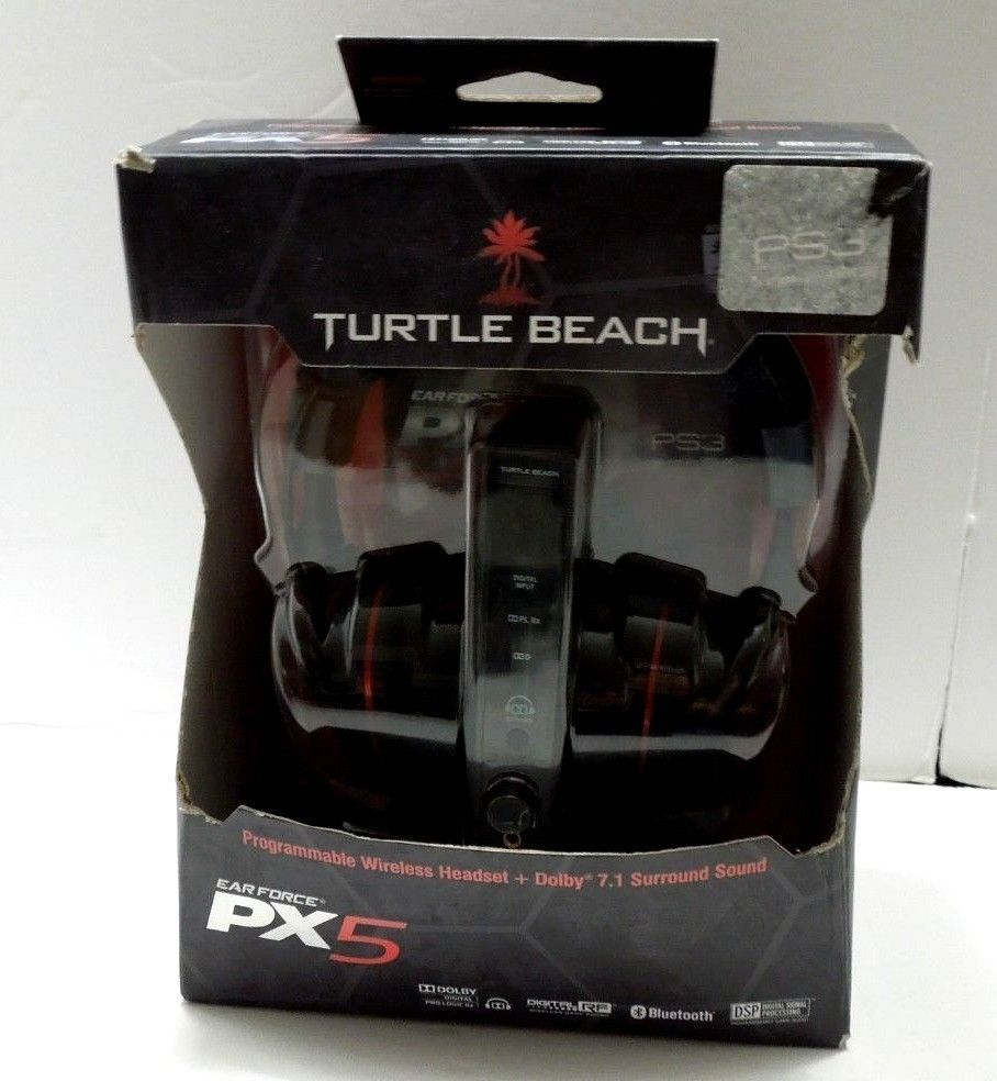 b8ed5960a3b Turtle Beach PX5 Wireless 7.1 Dolby Dig Surround Headset Bluetooth PS3  XBOX360 #TurtleBeach