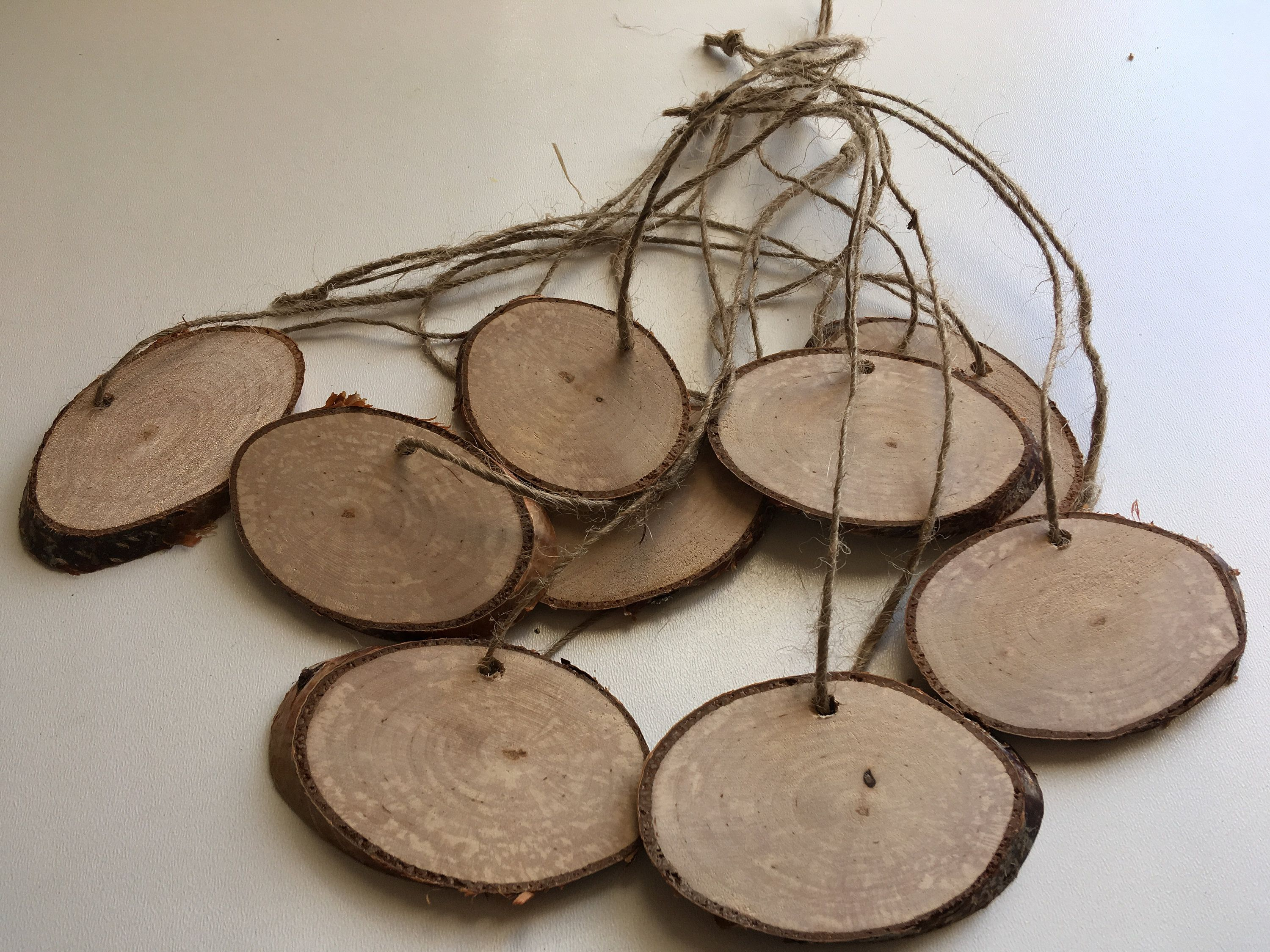 50 Oval Birch Wood Slices Oval Natural Birch Wood Slices 8 13 Cm Or 3 5 Inch Long Oval Birch Wood Wood Tags Unique Items Products Forest Wedding Decorations