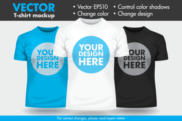 Download Vector T Shirt Template Mockup Graphic By Pedro Alexandre Teixeira Creative Fabrica Shirt Mockup Shirt Template Mens Tshirts