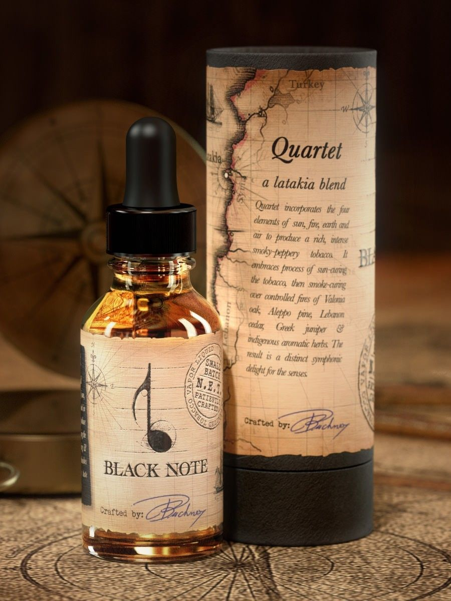 BLACK NOTE Quartet Latakia Blend | Latest electronic cigarettes