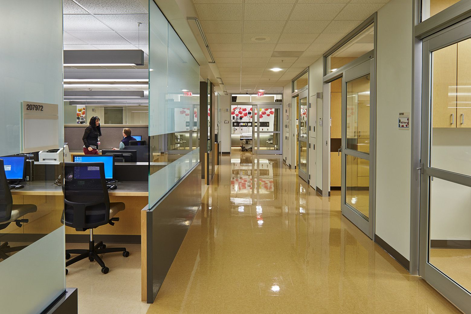 Gallery Of Pediatric Emergency Department At Providence Sacred Heart Medical Center Mahlum 6 Emergency Department Medical Center Hospital Design