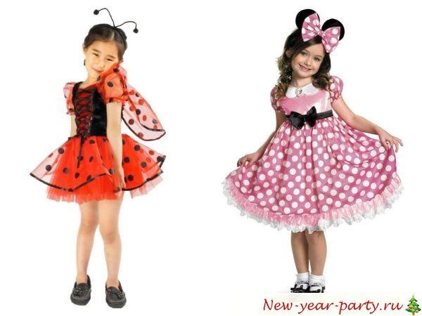 Новогодние костюмы своими руками: фото костюмов для девочек и