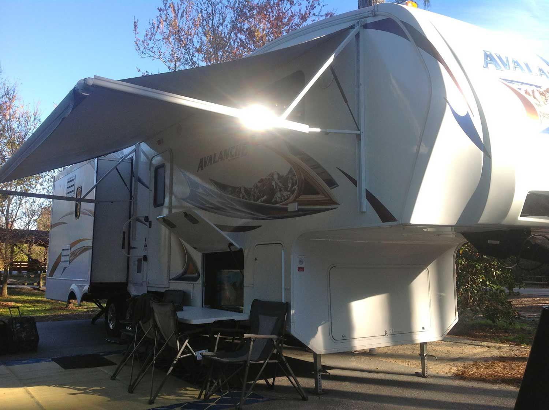 Renting an RV at Disney's Fort Wilderness Florida Camper