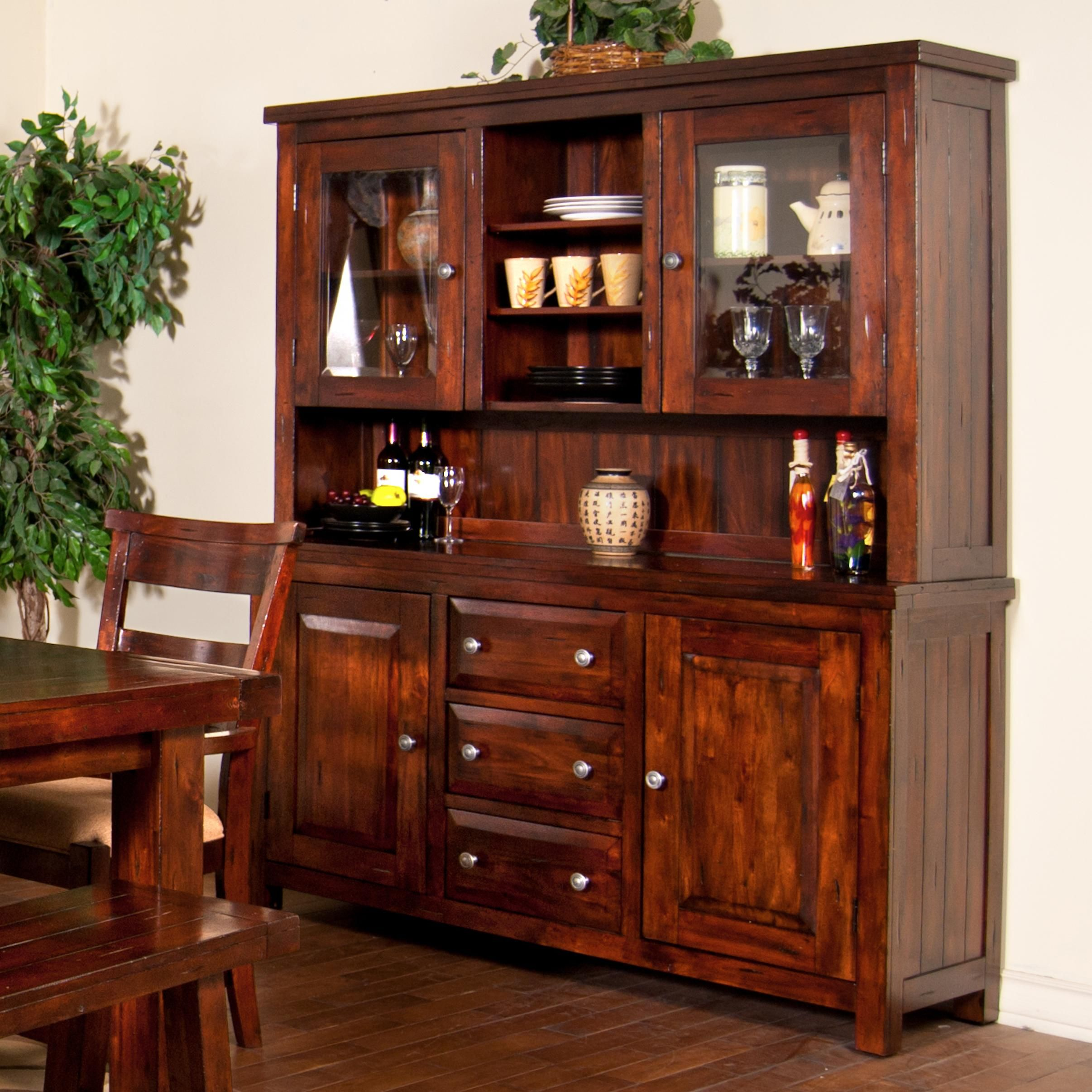 Vineyard 2 Piece China Cabinet By Sunny Designs