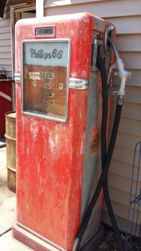 Vintage Bowser gas pump | Matty's stash !!! | Old gas pumps