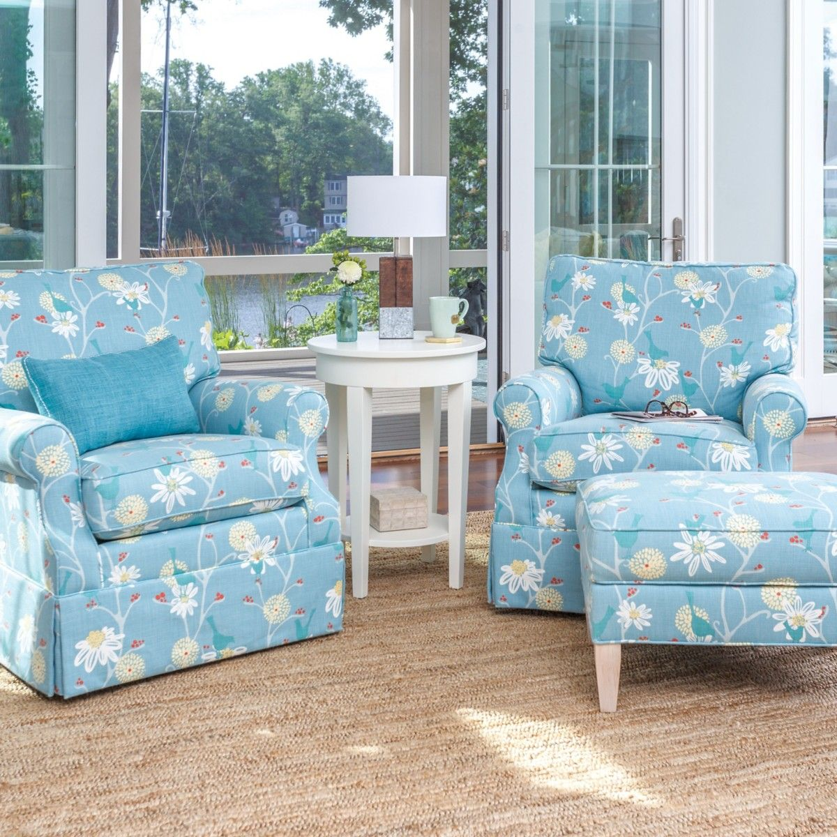 Lucy Swivel Glider Chair | Glider chair, Maine cottage and Gliders