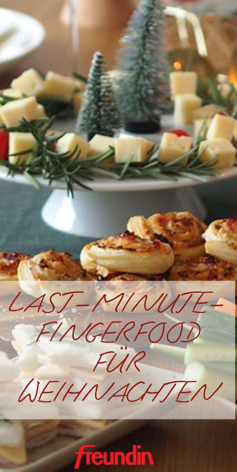 Last-minute-Fingerfood-Ideen für Ihre Christmas-Party | Alles rund ...