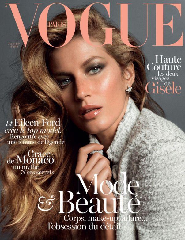 Gisele Bündchen by Inez van Lamsweerde and Vinoodh Matadin for Vogue Paris November 2013