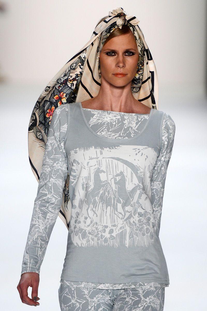 Images from Mercedes-Benz Fashion Week Berlin - Kätlin Kaljuvee, rOtring ambassador, 2013 Berlin Fashion Week