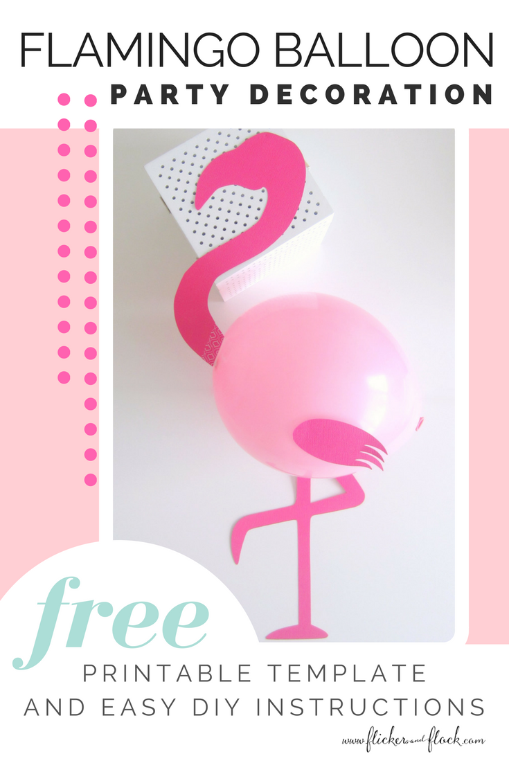 Time To Flamingle With This Diy Flamingo Party Balloon