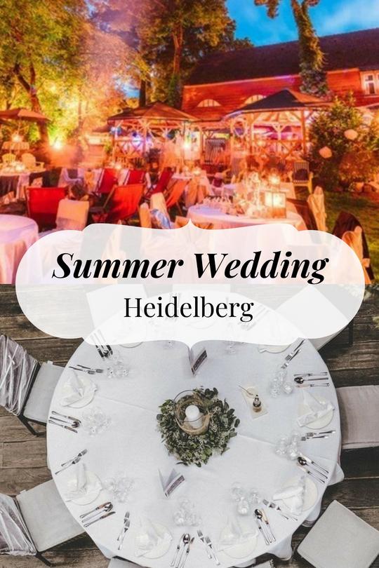 Der Traum Einer Sommer Hochzeit In Heidelberg Konnte Schneller Wahr