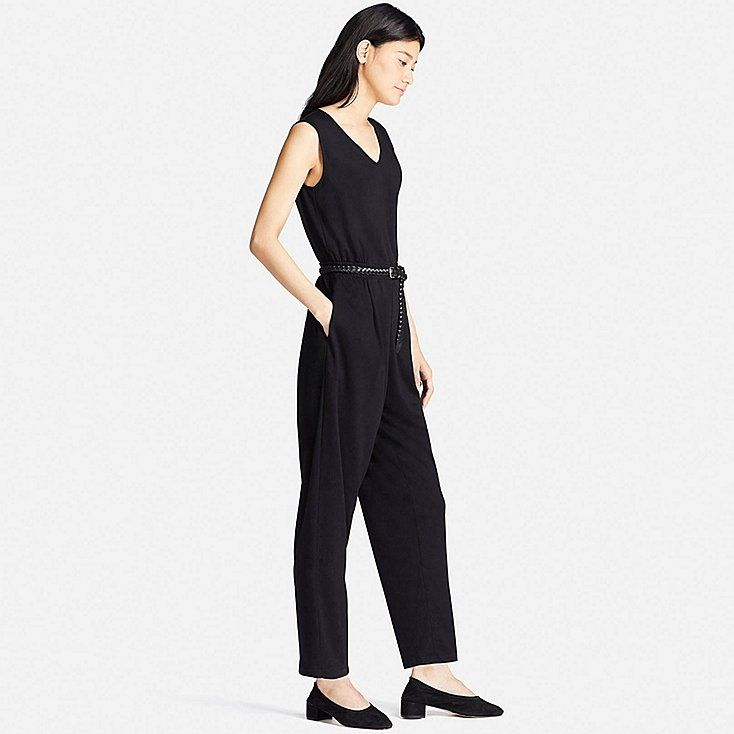 0ad0770f692d Women cut   sewn v-neck jumpsuit