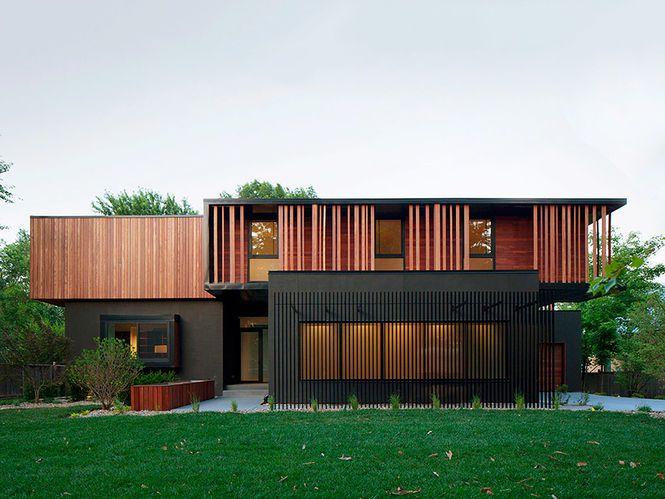 Casa 'Baulinder'. Arquiteto: Hufft Projects. Fotógrafo: Andrew Fabin