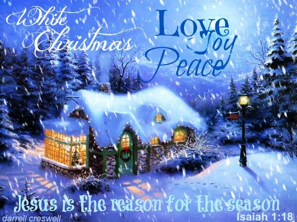 christmas joy in through jesus