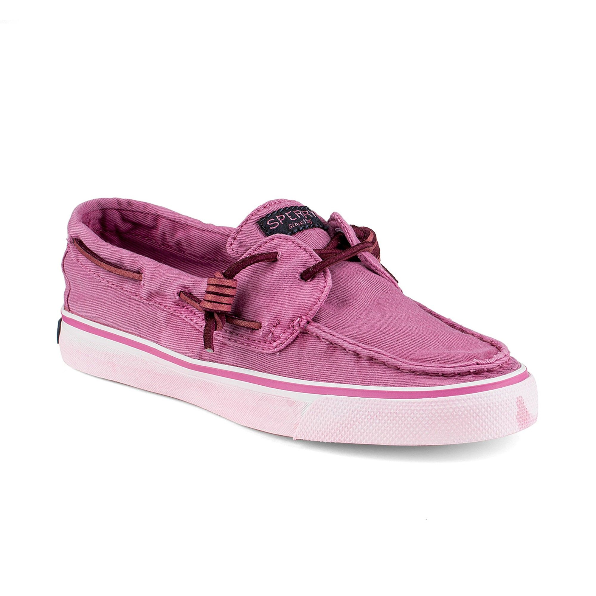 Sperry Bahama W Washed BRIGHT PINK