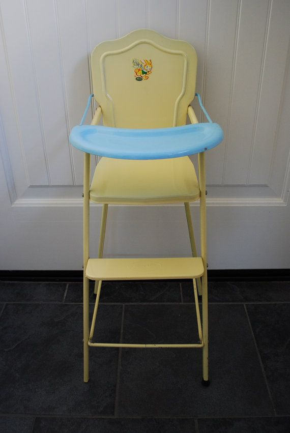 Vintage Amsco Dollehichair Dolly High Chair 1940 S By Samjams3 Doll High Chair High Chair Vintage Toys