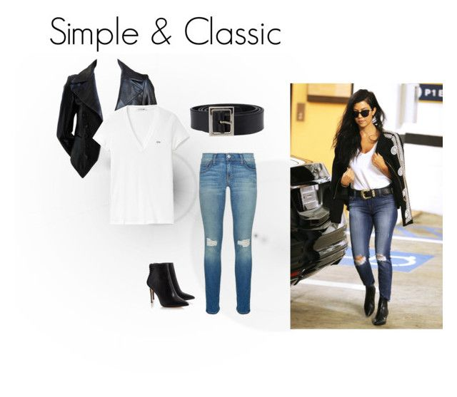 White and Jeans! by josehline on Polyvore featuring Lacoste, Rebecca Minkoff and Dolce&Gabbana