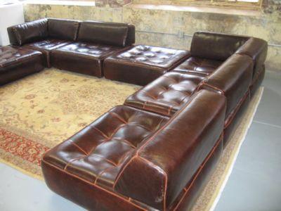 roche bobois flight jacket modular sofa